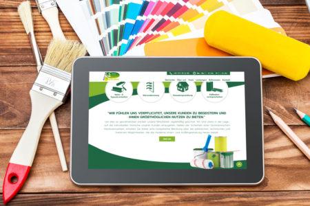 Relaunch Webseite | Malerpalette GmbH