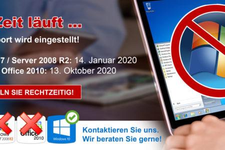 Windows 7 Support wird beendet!